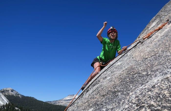 climb in yosemite national park
