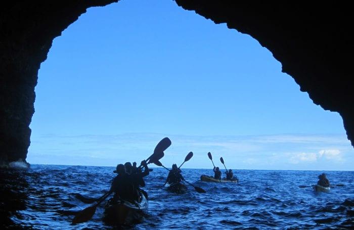 kayak the costa brava coastline with moondance