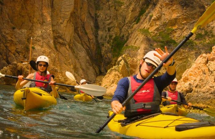 kayak the dalmatian coast on moondance adventure trip
