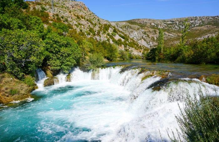croatia rafting the zrmanja river