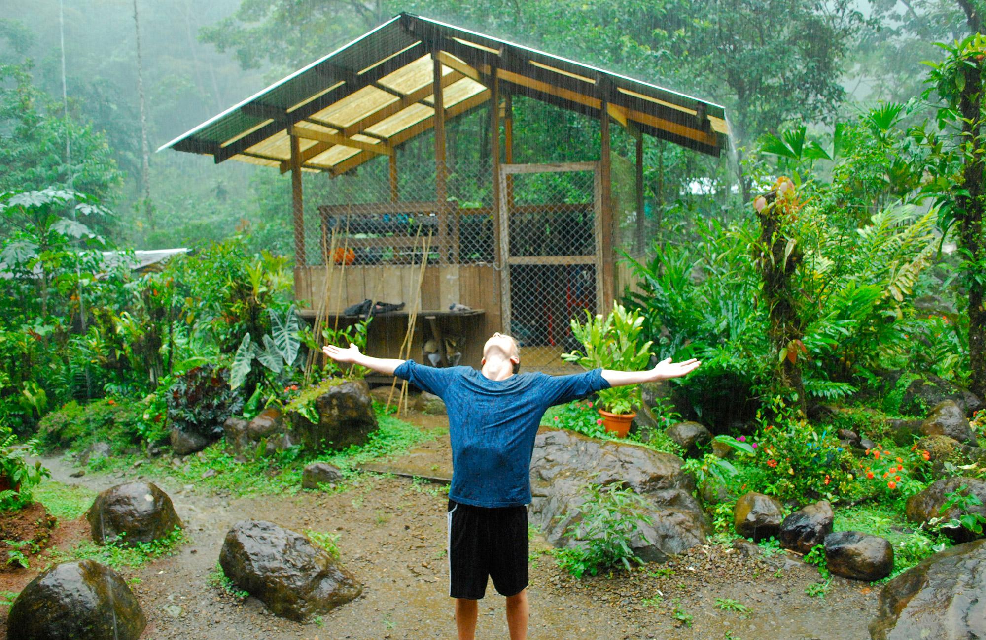 costa rica trekking teen adventure trip