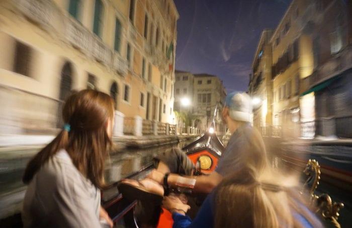 dolomites gondola ride in venice