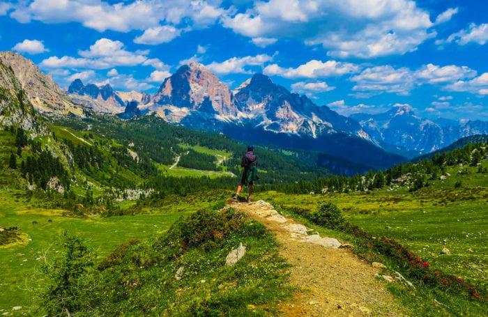 trekking in italy on teen adventure