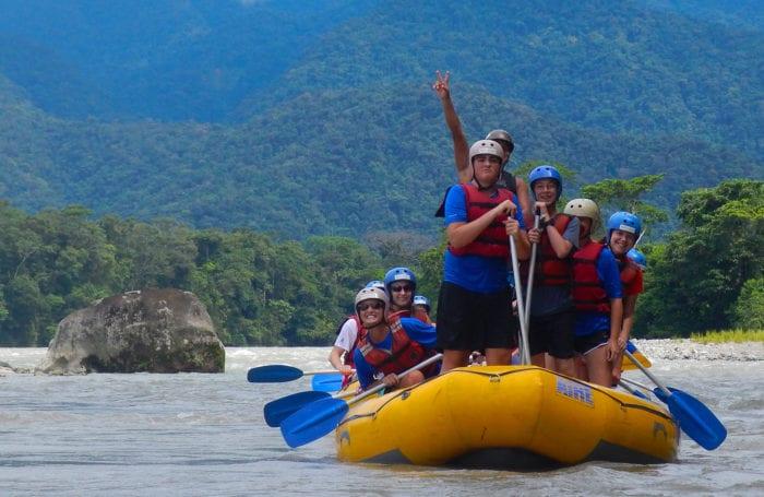 rafting trip for teens in ecuador