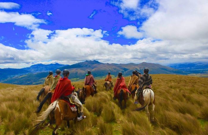 on horseback | Moondance Adventures