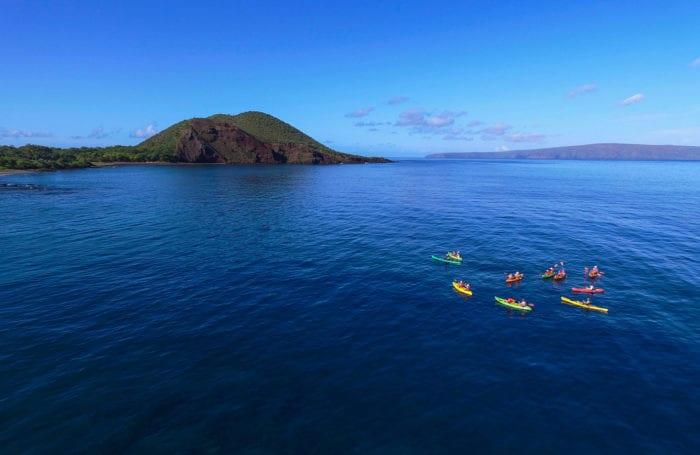 maui kayaking trip with moondance