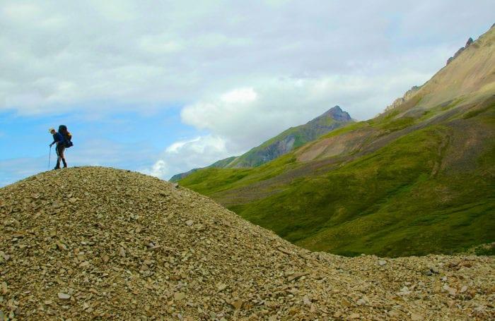 backpacking teen trip in alaska