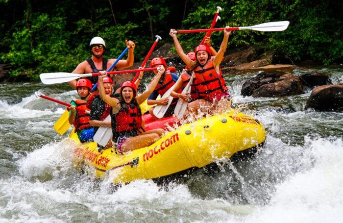 rafting the ocoee and nantahala rivers