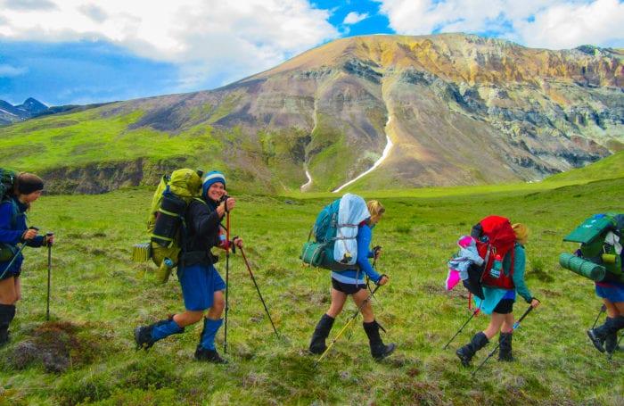 trek the talkeetna mountain range on a moondance trip