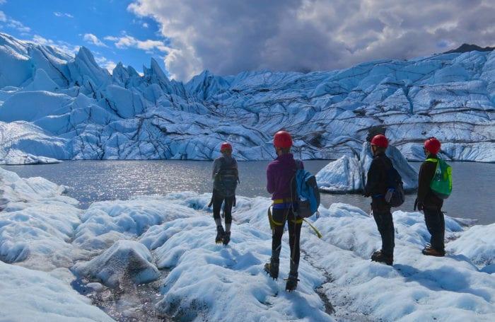 matanuska glacier on northern lights moondance trip