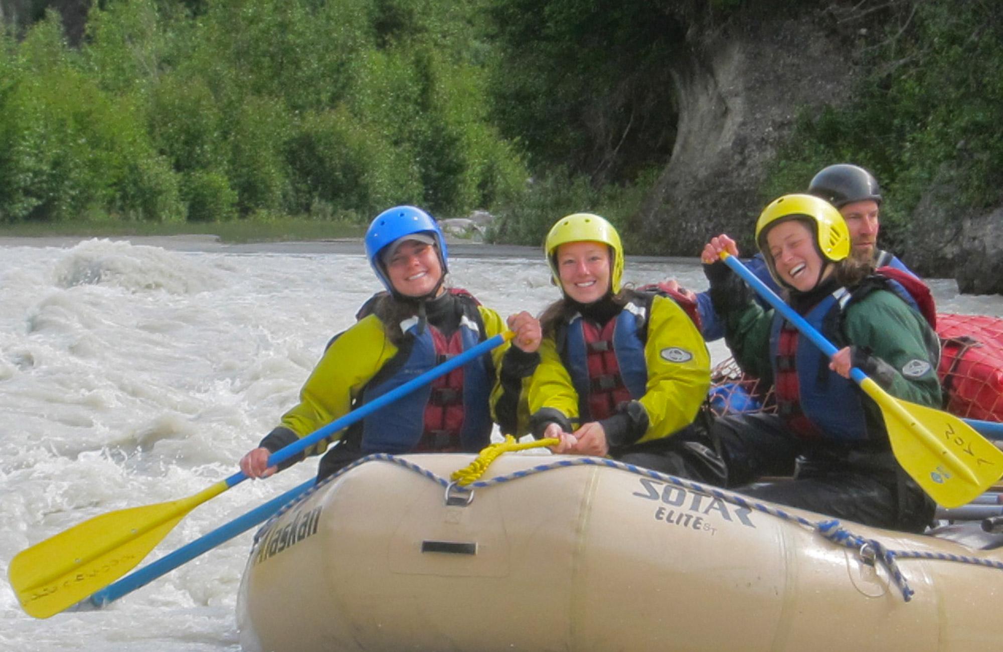raft the chickaloon river moondance