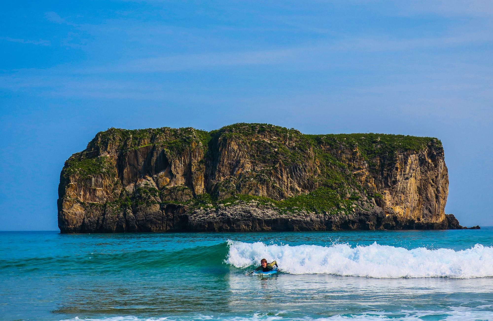 surf in llanes moondane