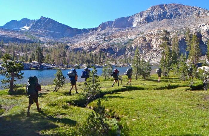 yosemite teen backpacking trip with moondance