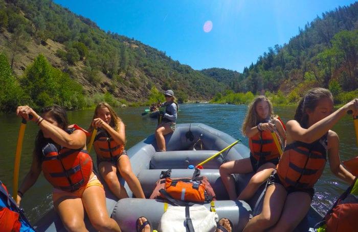 yosemite white water raft american river moondance