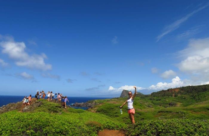 Hiking in Maui at Moondance