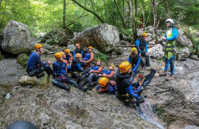 Moondance canyoneering trip