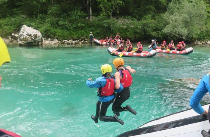 Slovenia Rafting on Moondance