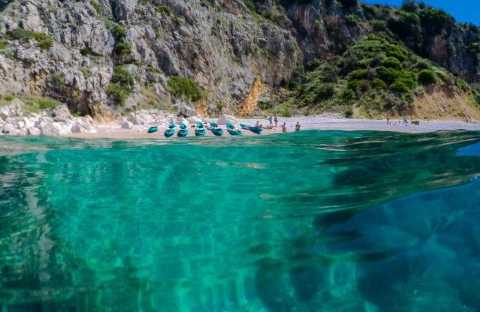 Water views in Croatia