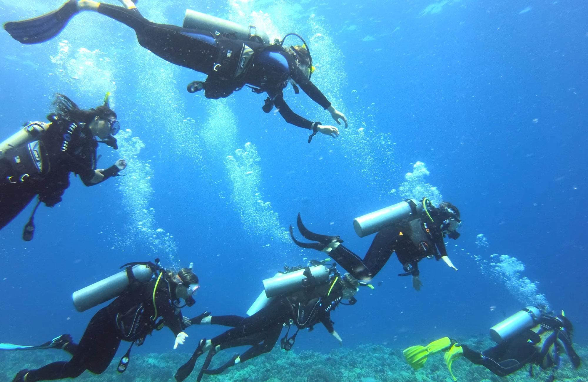 Moondance scuba diving teen trip