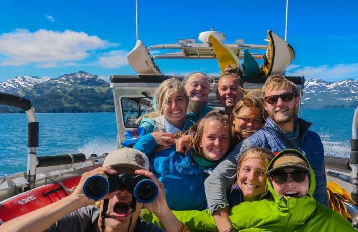 Alaska by binocular on Moondance