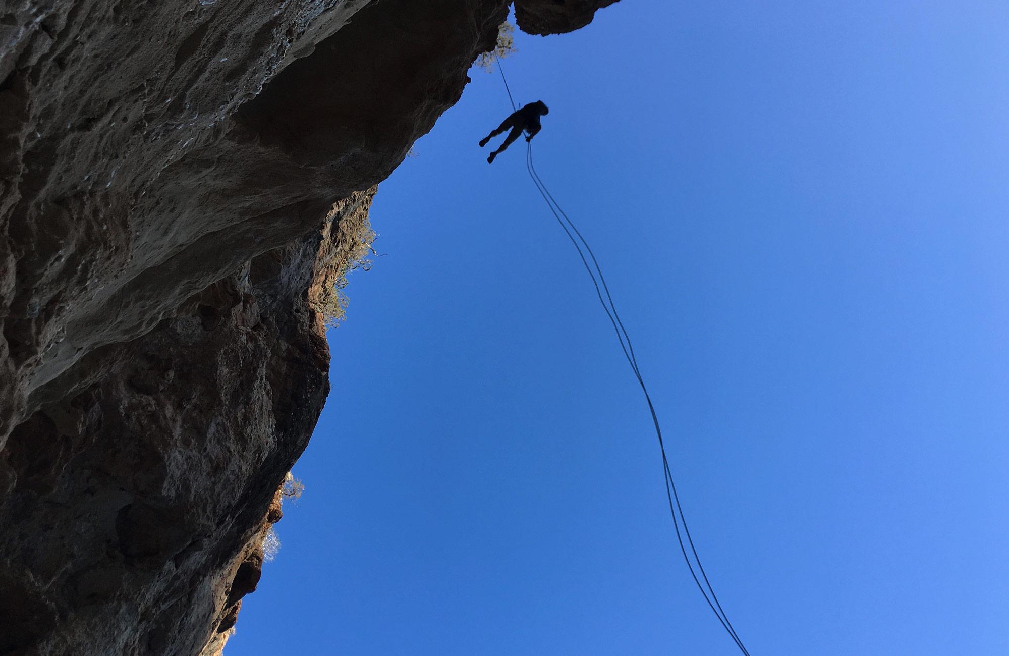 Sardinia ropes on Moondance teen tours
